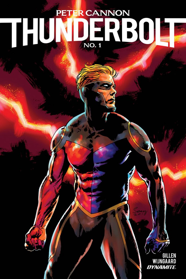 Peter Cannon: Thunderbolt #1 (Phillips Cover)