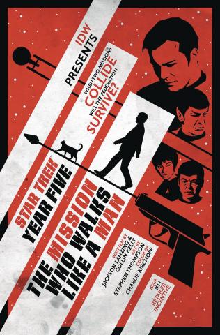 Star Trek: Year Five #11 (10 Copy Lendl Cover)