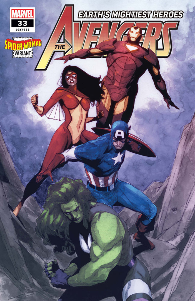 Avengers #33 (Pham Spider-Woman Cover)