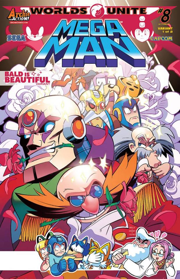 Mega Man #51 (Skelly Cover)