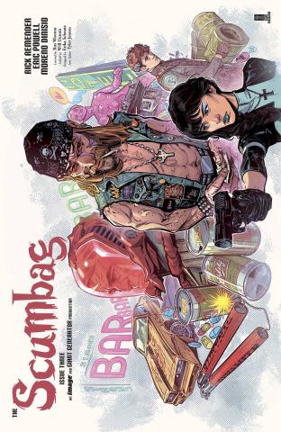 The Scumbag #3 (10 Copy Jones Cover)