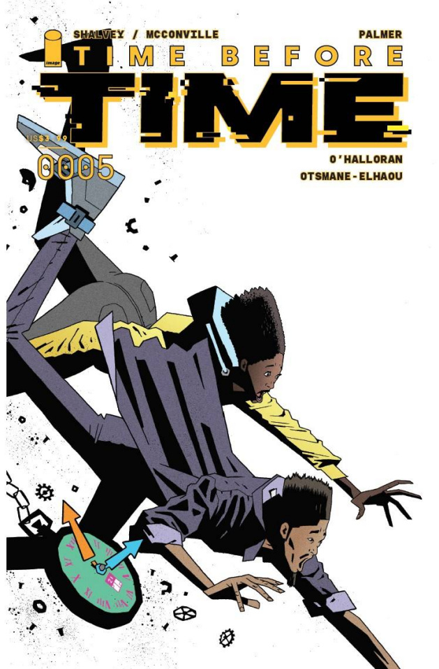 Time Before Time #5 (20 Copy Palmer Cover)