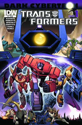 The Transformers: Dark Cybertron #1