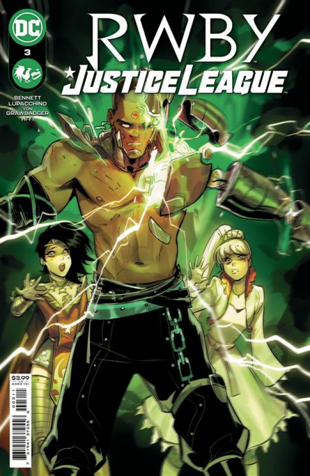 RWBY / Justice League #3 (Mirka Andolfo Cover)