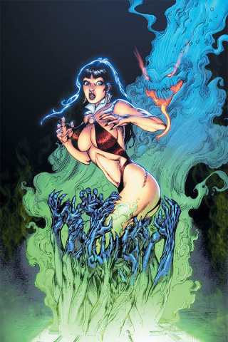 Vengeance of Vampirella #7 (7 Copy Castro Virgin Cover)