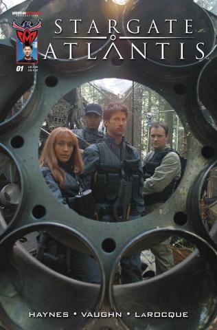 Stargate Atlantis: Back to Pegasus #1 (Flashback Cover)
