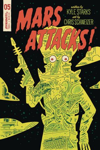 Mars Attacks #5 (Schweizer Cover)