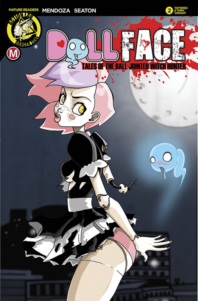 Dollface #2 (Tattered & Torn Cover)
