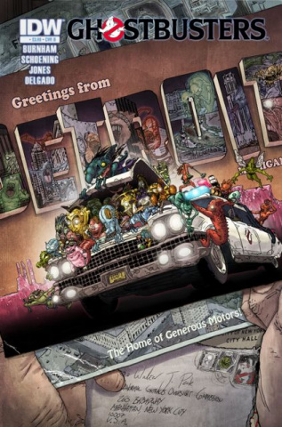 Ghostbusters #9