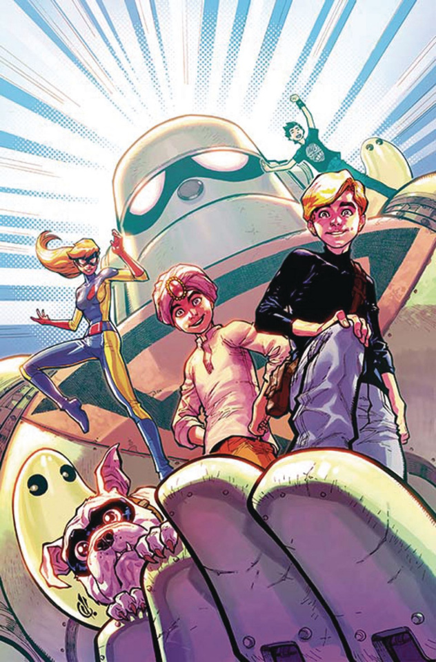 Future Quest #9 (Variant Cover)