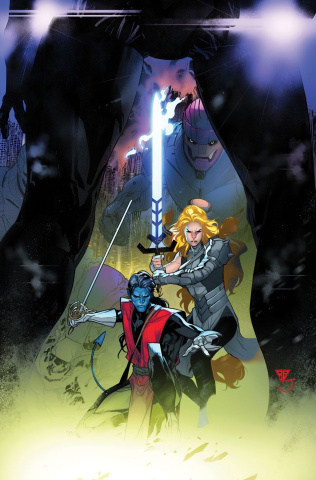 Powers of X #3 (Silva Virgin Cover)