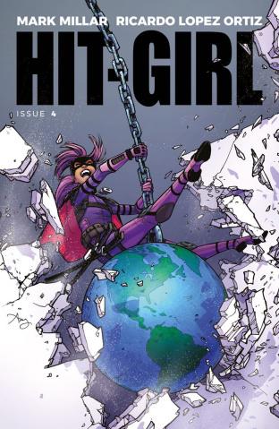 Hit-Girl #4 (Reeder Cover)