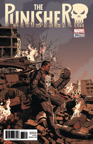 The Punisher #218 (Smallwood Cover)