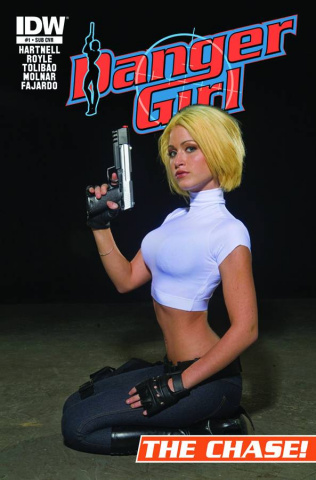 Danger Girl: The Chase #1 (Subscription Cover)