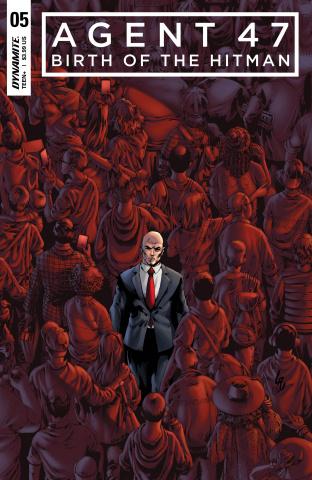 Agent 47: Birth of the Hitman #5 (Lau Cover)