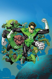 Hal Jordan and The Green Lantern Corps #3 (Variant Cover)