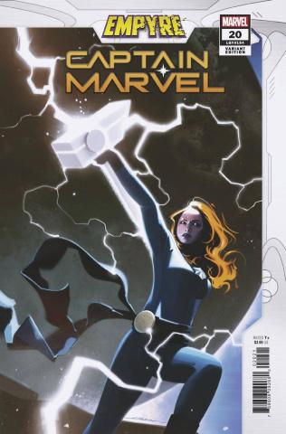 Captain Marvel #20 (Dekal Empyre Cover)