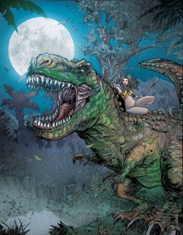 Cavewoman / Raptorella #1 (Gully Cover)
