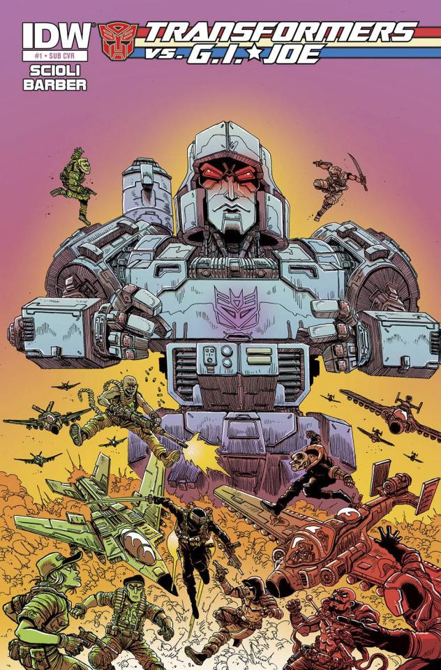 Transformers vs. G.I. Joe #1 (Subscription Cover)