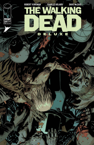 The Walking Dead Deluxe #29 (Adlard & McCaig Cover)