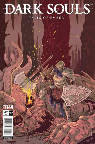 Dark Souls: Tales of Ember #2 (Walsh Cover)