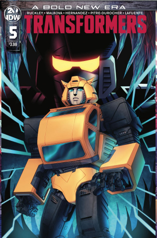 The Transformers #5 (Whitman Cover)