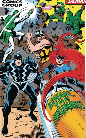 Inhumans #1 (True Believers Kirby Cover)