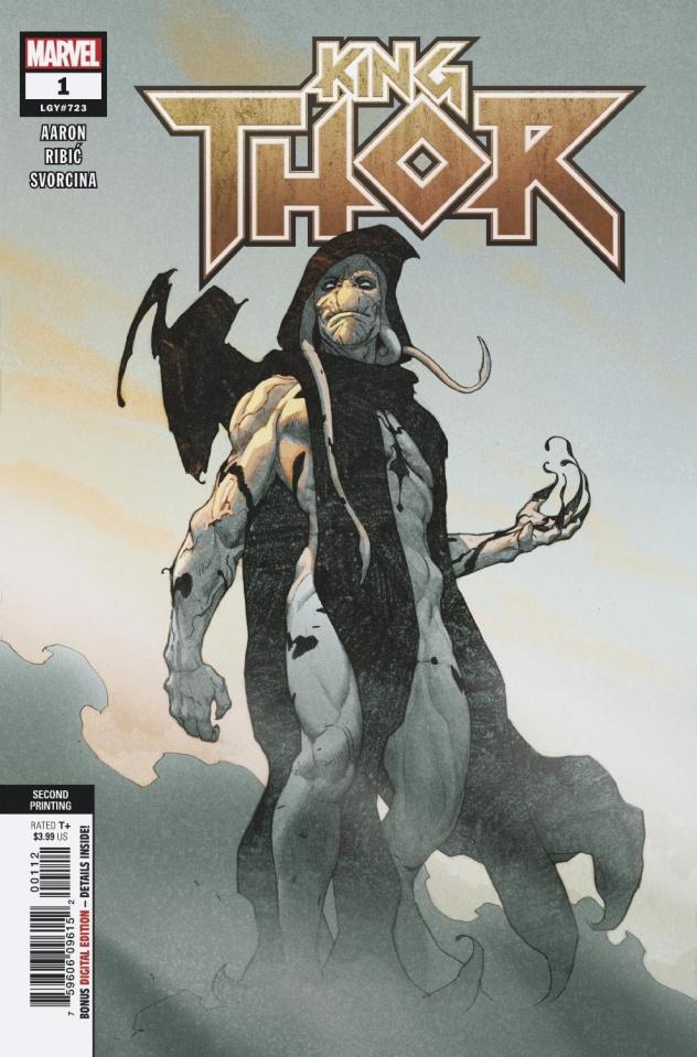 King Thor #1 (Ribic 2nd Printing)