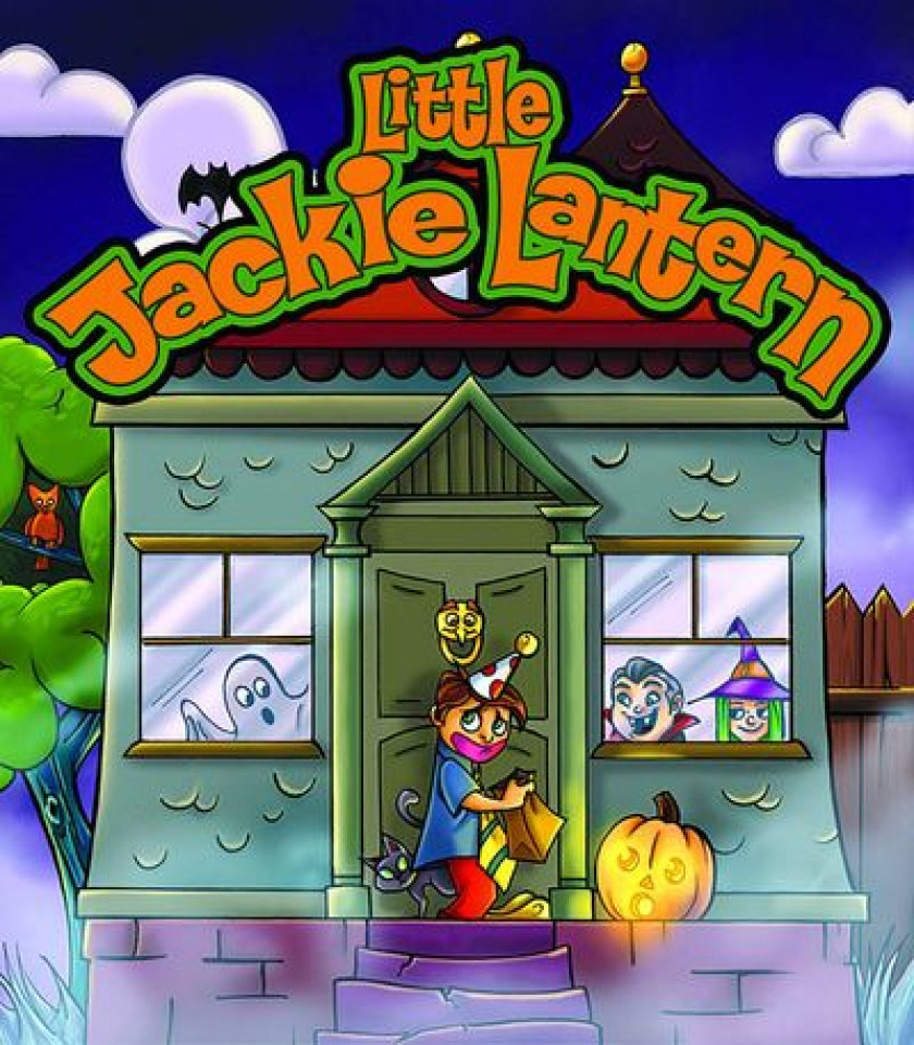 Little Jackie Lantern: Board Book
