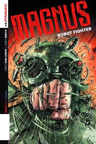 Magnus, Robot Fighter #4