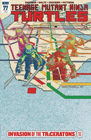 Teenage Mutant Ninja Turtles #77 (10 Copy Cover)