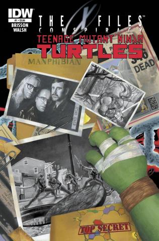 The X-Files Conspiracy: Teenage Mutant Ninja Turtles #1