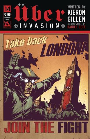 Über: Invasion #14 (Propaganda Poster Cover)