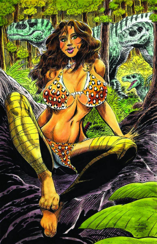 Cavewoman: The Return #4 (Durham Cover)