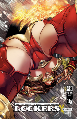 Lookers: Ember #3 (Red Hot Cover)