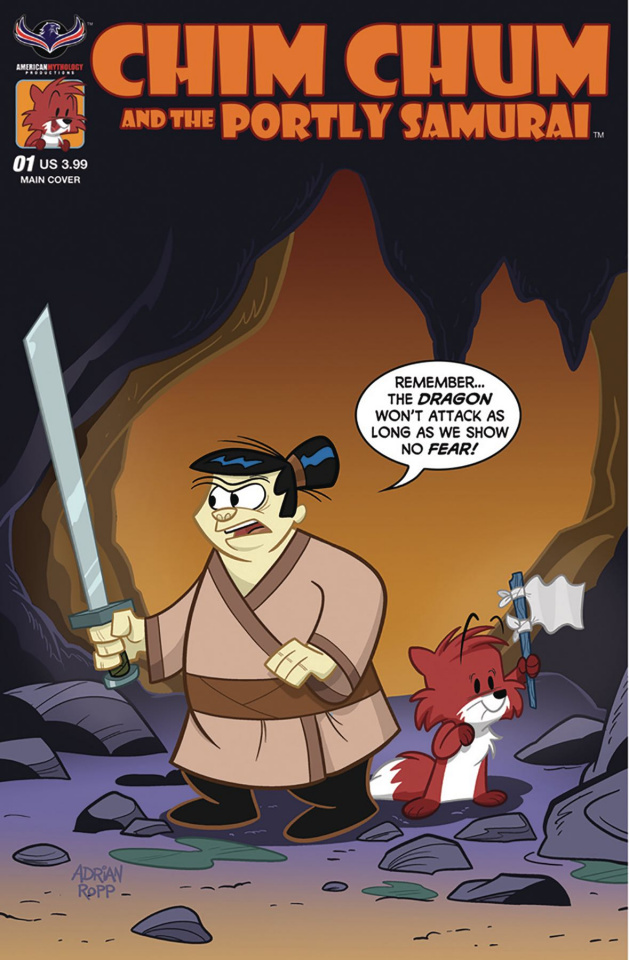 Chim Chum and the Portly Samurai #1 (Ropp Cover)