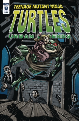 Teenage Mutant Ninja Turtles: Urban Legends #8 (Fosco Cover)