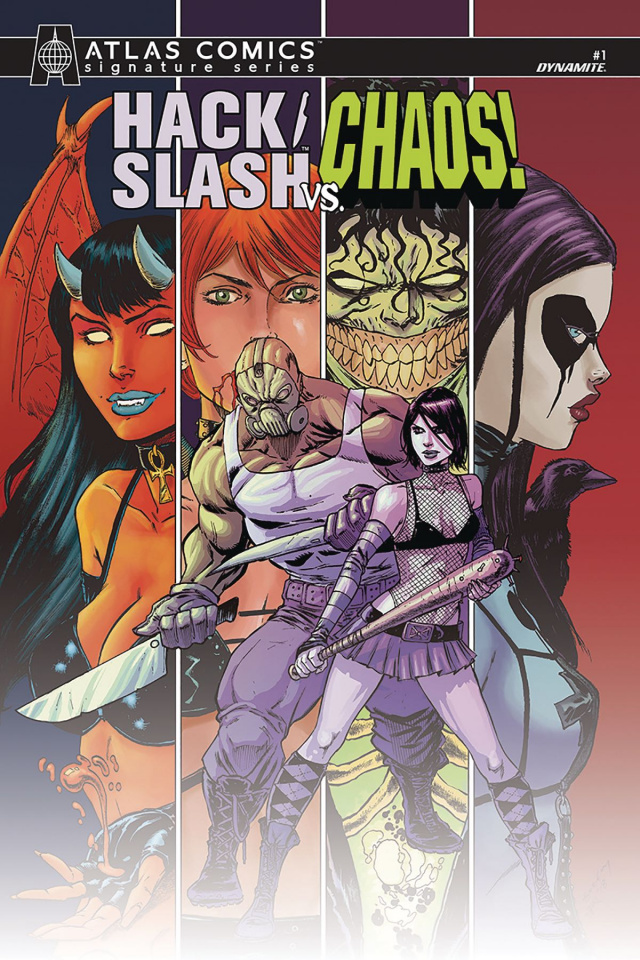 Hack/Slash vs. Chaos! #1 (Atlas Seeley Signed Edition)
