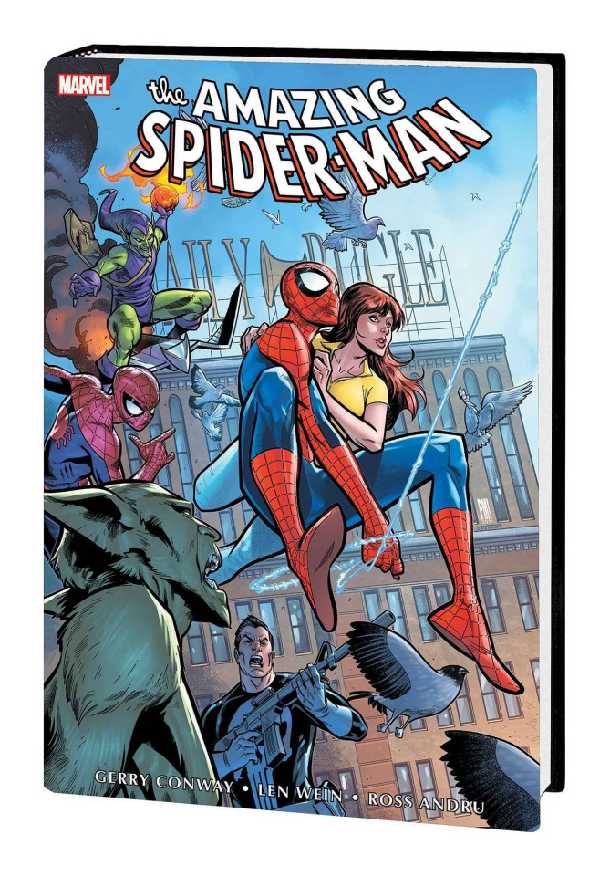 The Amazing Spider-Man Vol. 5 (Medina Omnibus Cover)