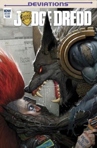 Judge Dredd: Deviations (10 Copy Cover)