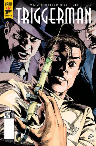 Hard Case Crime: Triggerman #4 (Scott Cover)