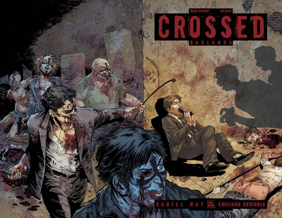 Crossed: Badlands #48 (Wrap Cover)