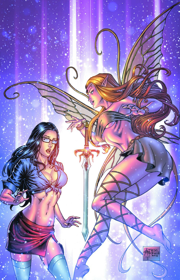 Grimm Fairy Tales #93 (Reyes Cover)