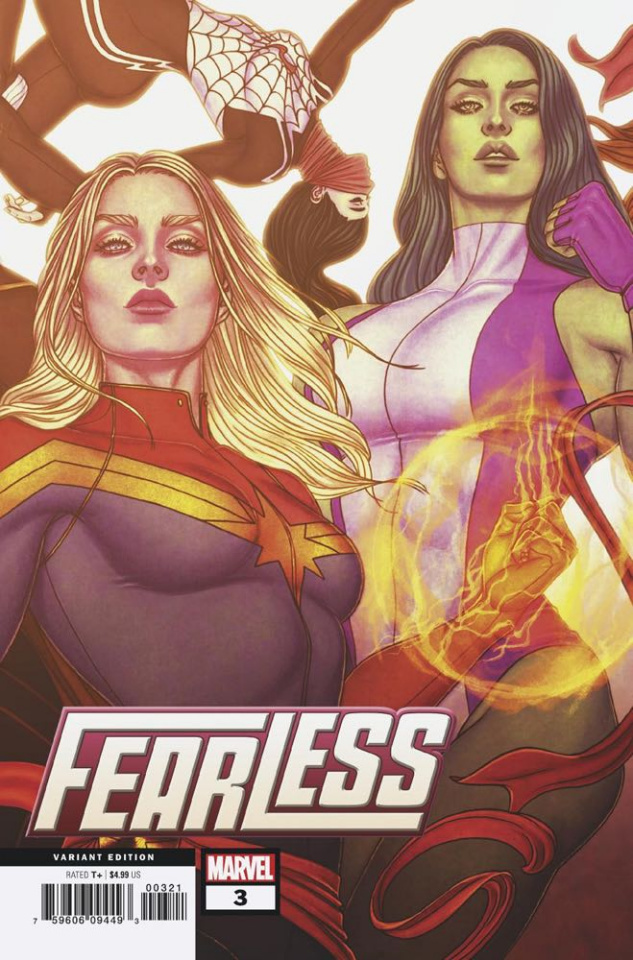 Fearless #3 (Frison Connecting Cover)