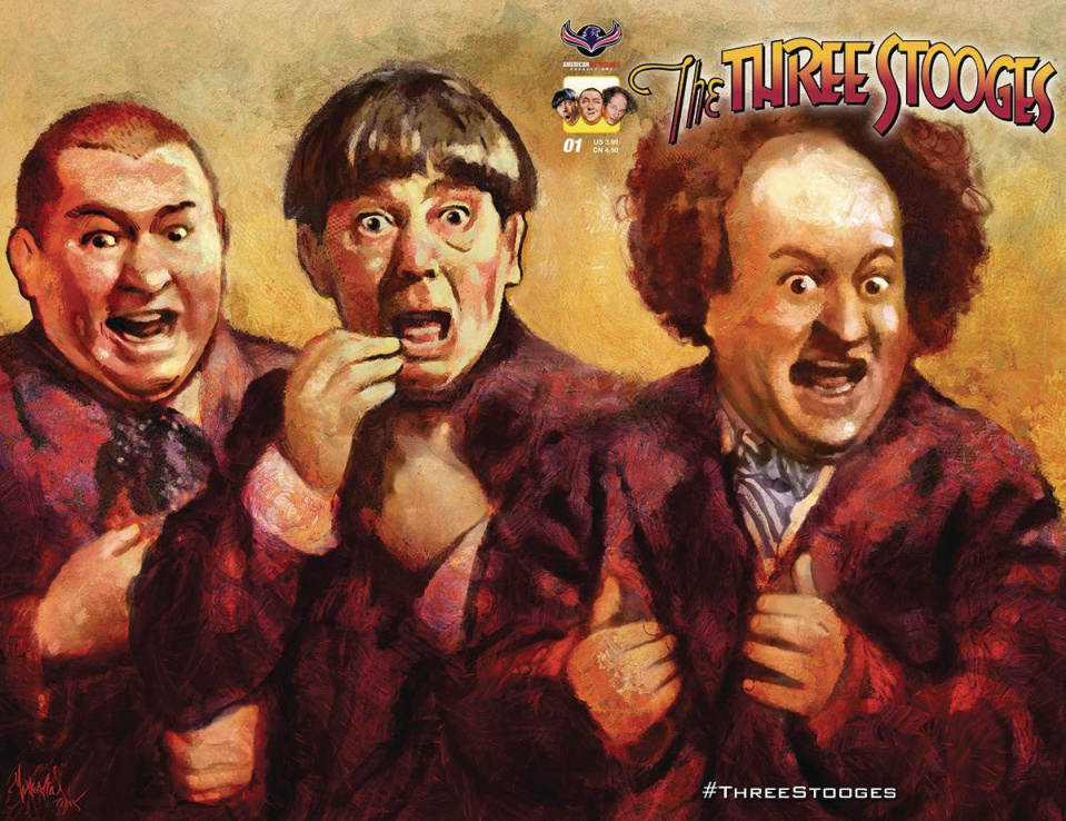 The Three Stooges: Stooge-A-Palooza (Subscription Cover)
