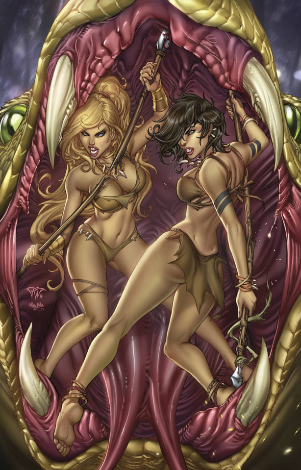 Grimm Fairy Tales: The Jungle Book - Fall of the Wild #3 (Pantalena Cover)