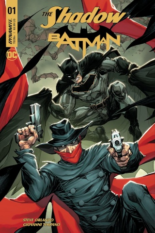The Shadow / Batman #1 (Porter Cover)
