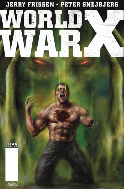 World War X #4 (Percival Cover)