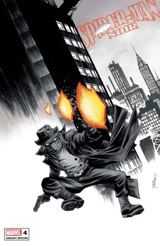 Spider-Man Noir #4 (Shalvey Cover)