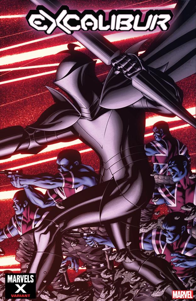 Excalibur #6 (McKone Marvels X Cover)
